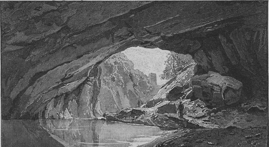 Illustration Kleinhäuslergrotte
