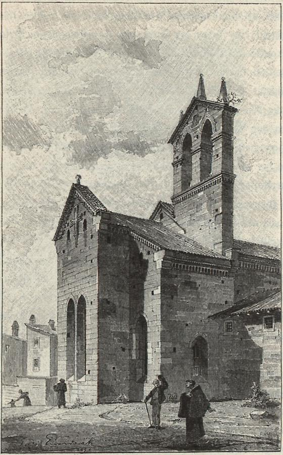 Illustration Kirche San Francesco in Pola