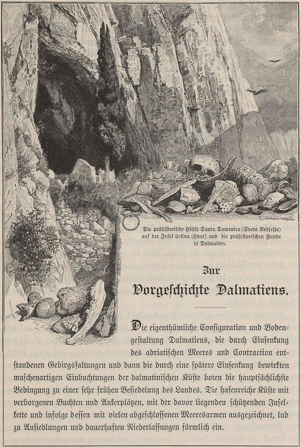 Illustration Höhle Santa Domenica