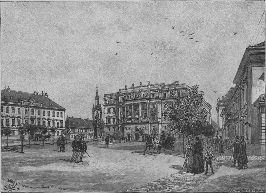 Illustration St. Georgsplatz