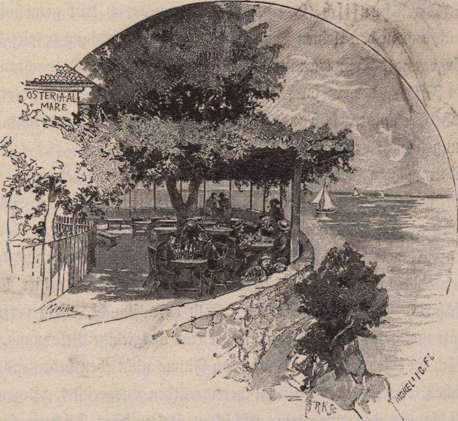 Illustration Osteria in Fiume