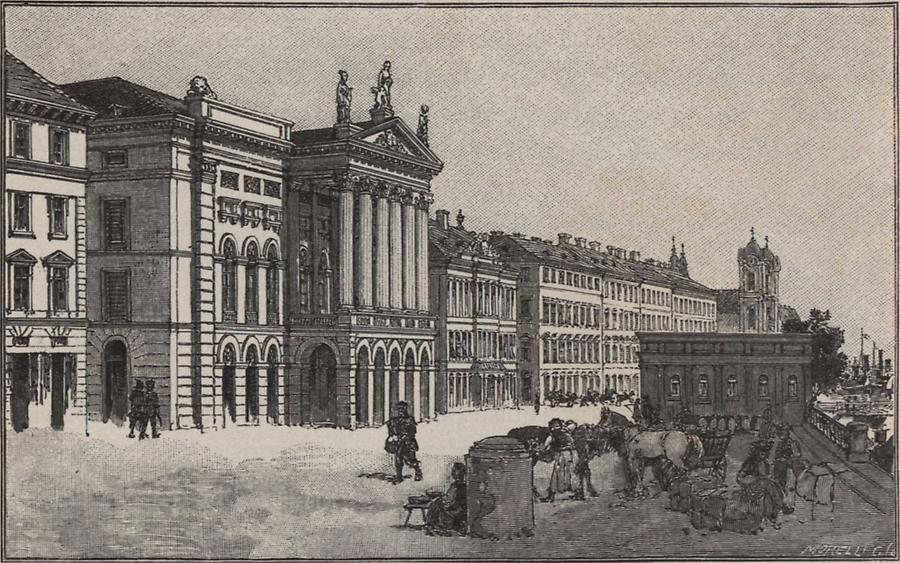 Illustration Redoutengebäude 1849