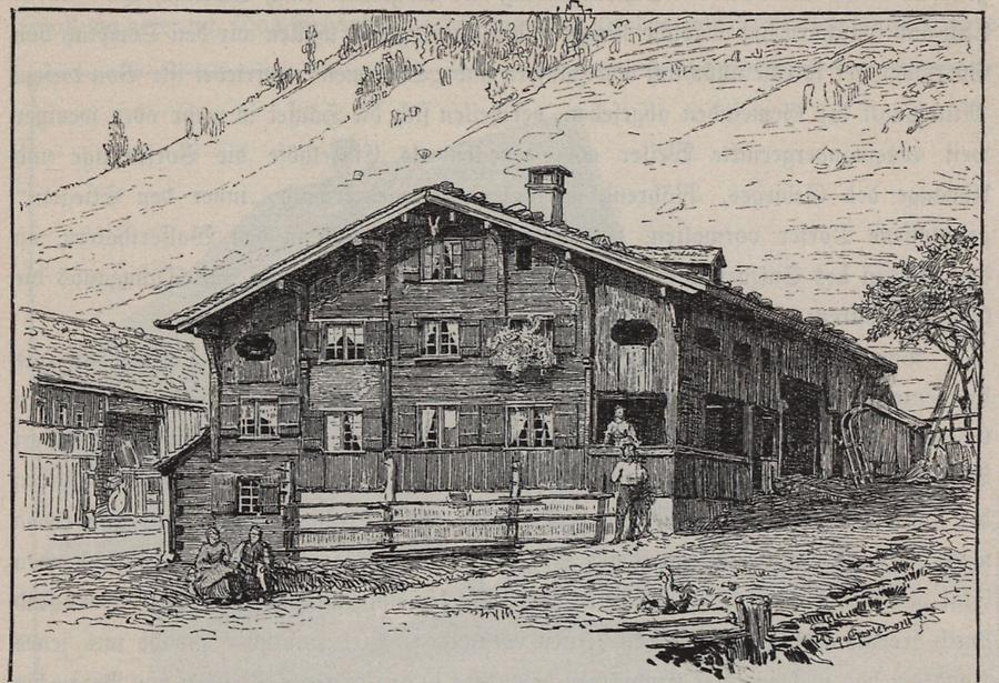 Illustration Bregenzerwälderhaus