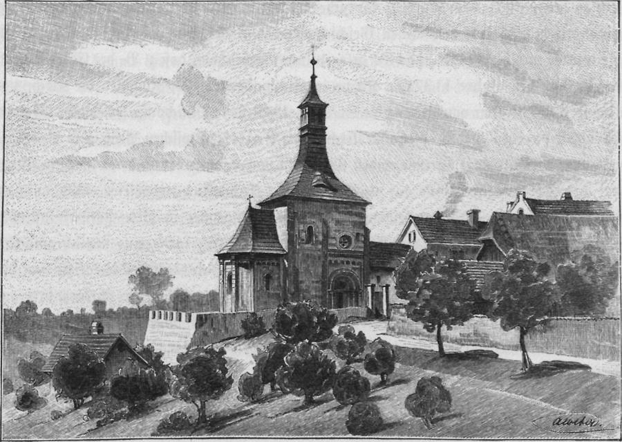 Illustration Nikolauskapelle in Vinec