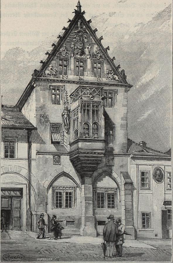 Illustration Steinernes Haus in Kuttenberg