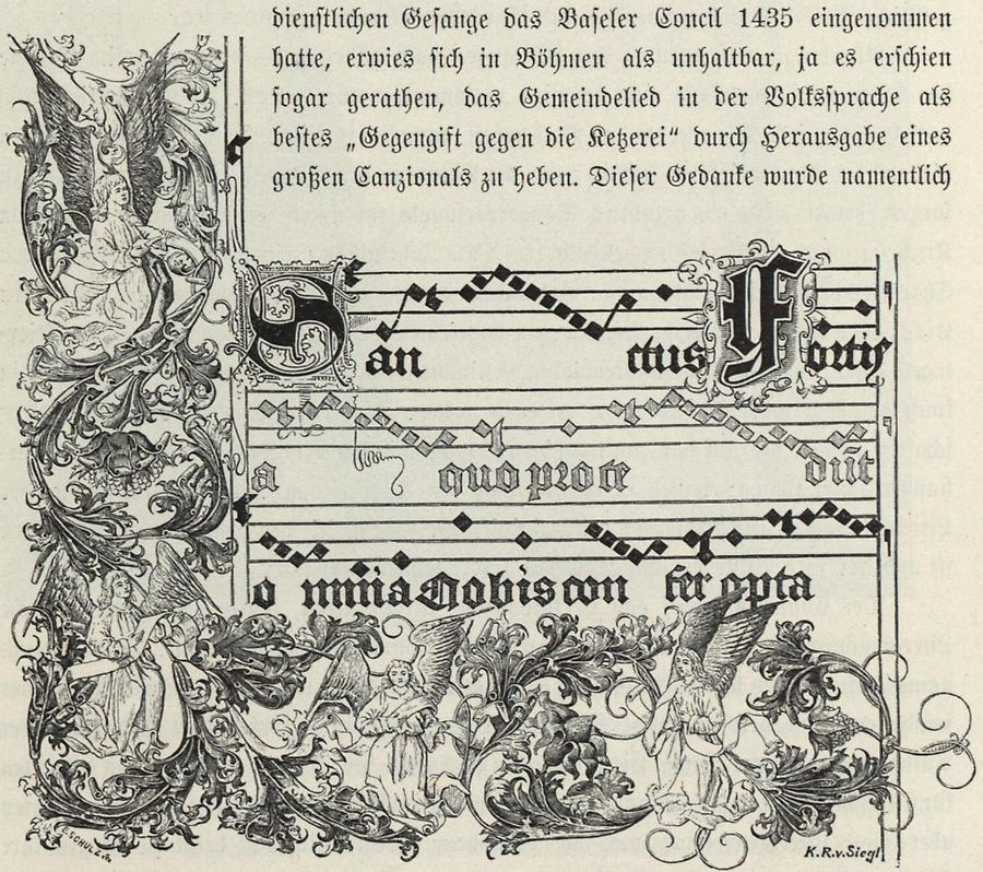 Illustration Cantionale von Jungbunzlau