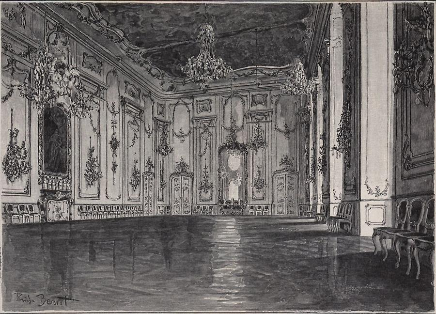 Illustration Großer Saal in Kremsier