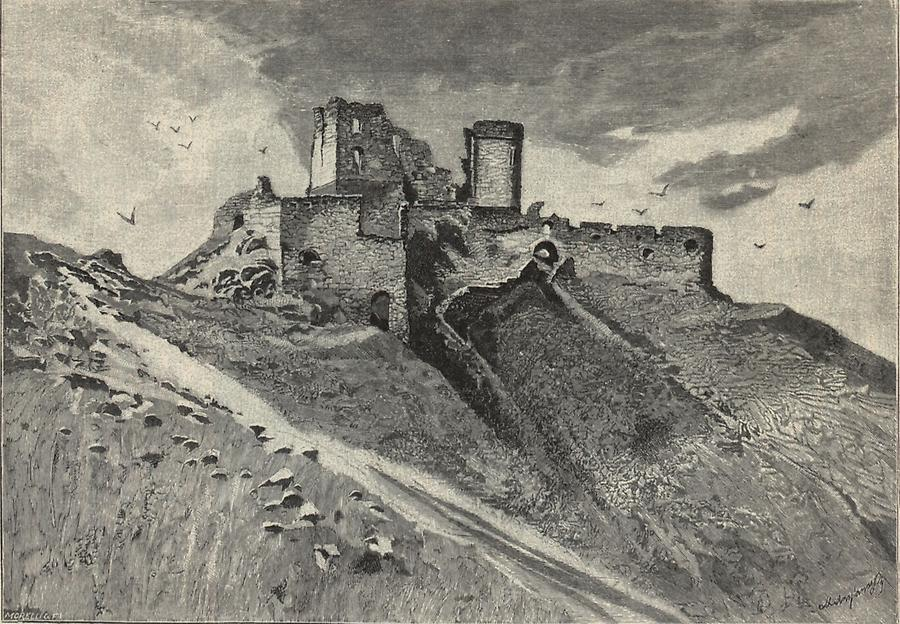 Illustration Burg Csejte