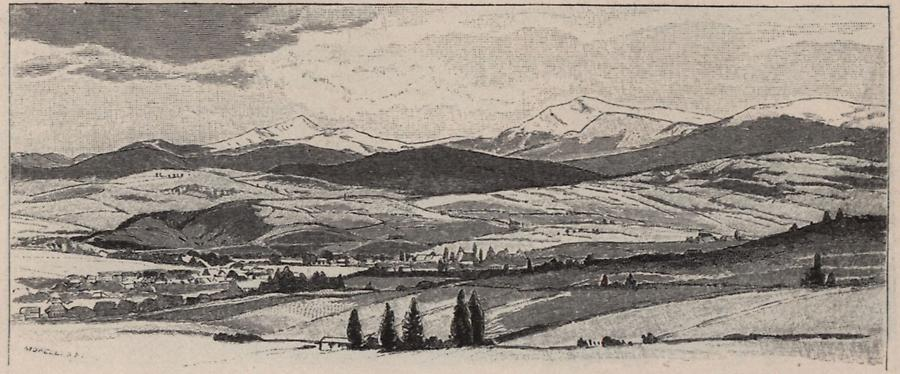 Illustration Hoverla und Pietroß