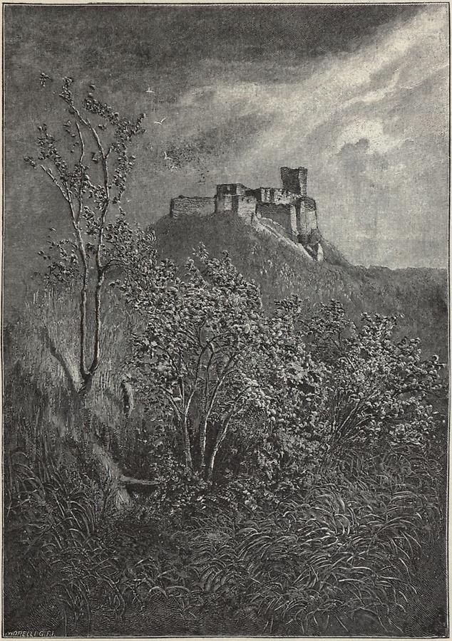 Illustration Burg Temetveny