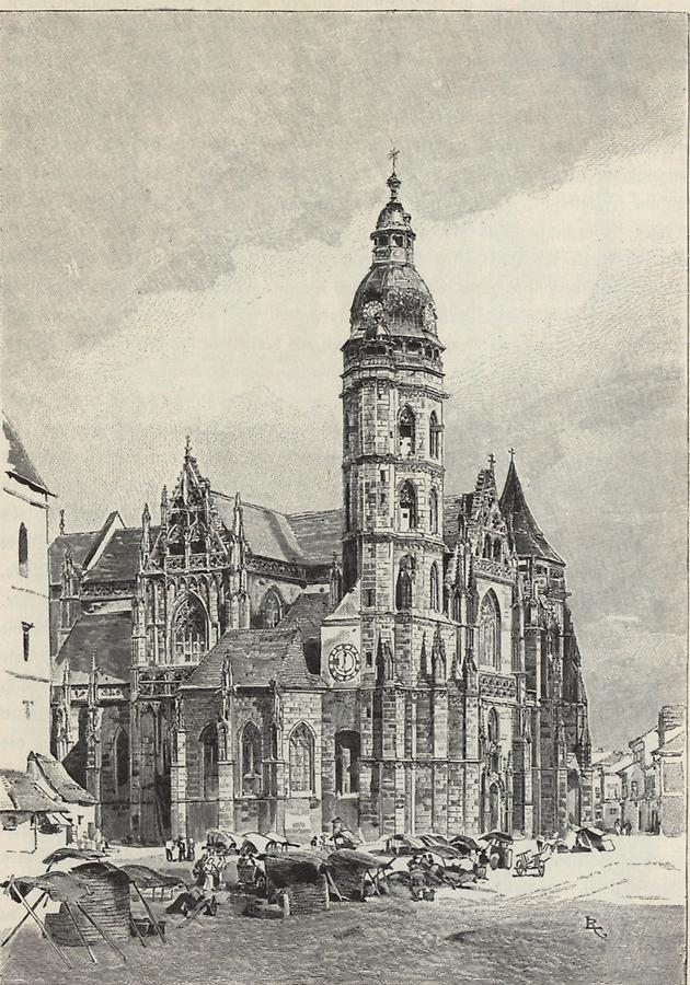 Illustration Kathedrale zu Kaschau (2)
