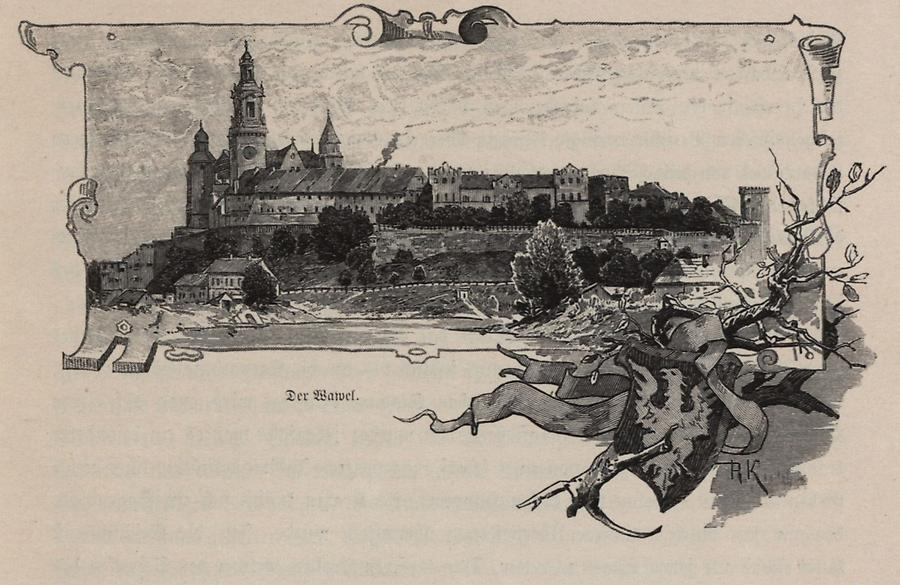 Illustration Der Wawel