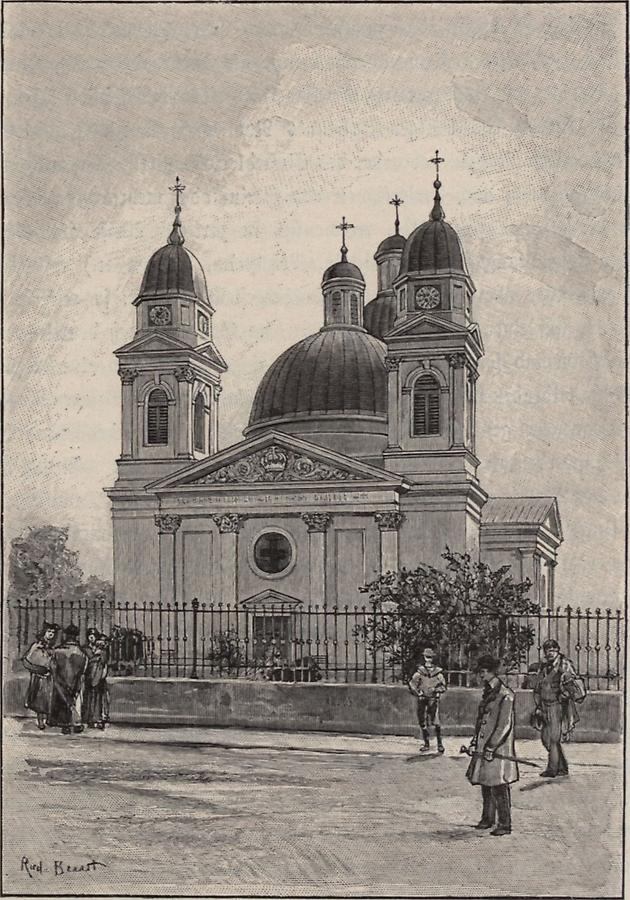 Illustration Domkirche in Czernowitz