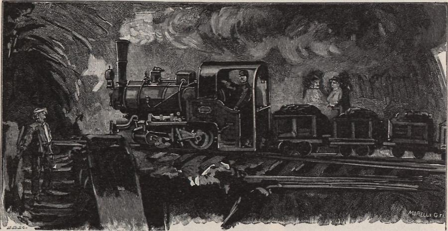 Illustration Bergwerk zu Hodritsch
