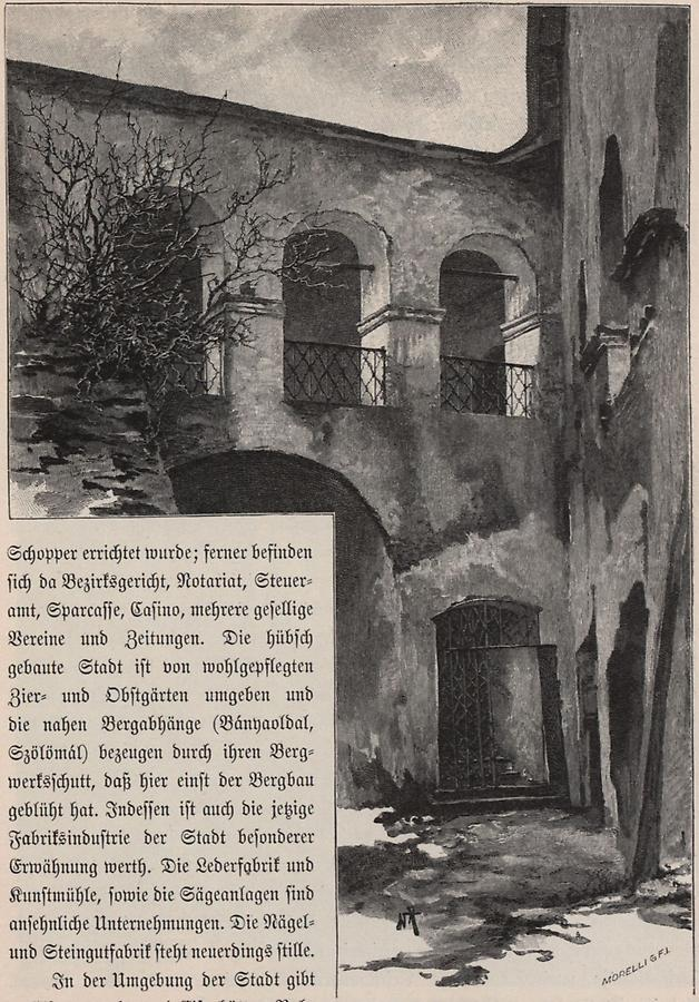 Illustration Burghof zu Kraßnahorka