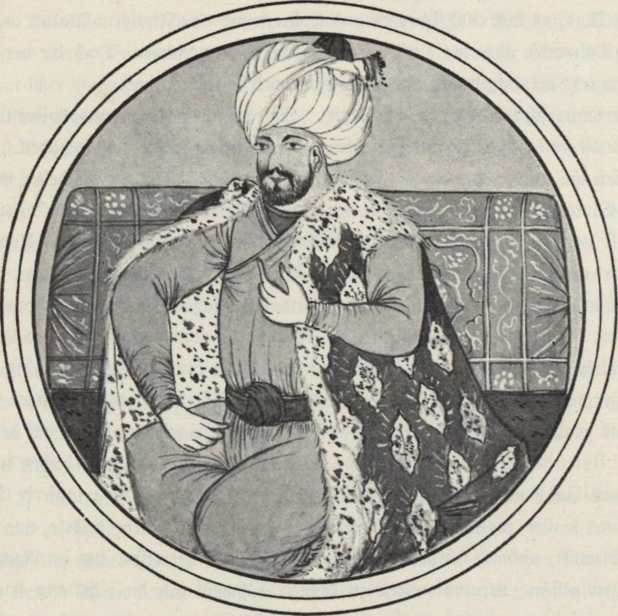Illustration Sultan Mehmed-el-Fatih