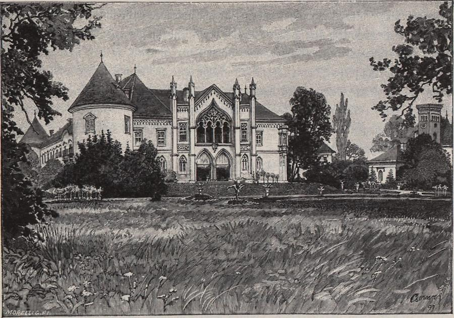 Illustration Schloss Bonczida