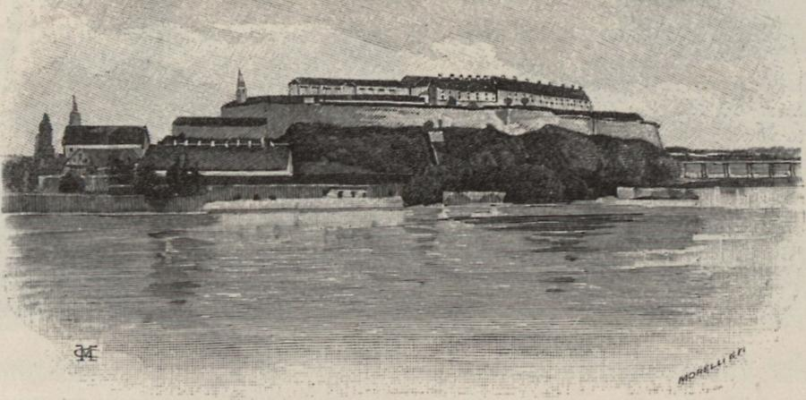 Illustration Peterwardein (Petrovaradin)