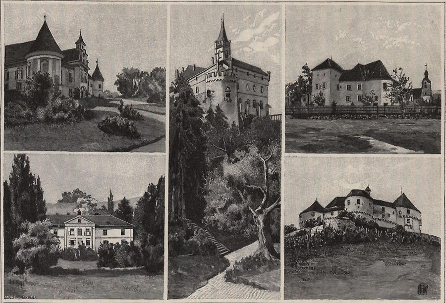 Illustration Edelsitze in Zagorje