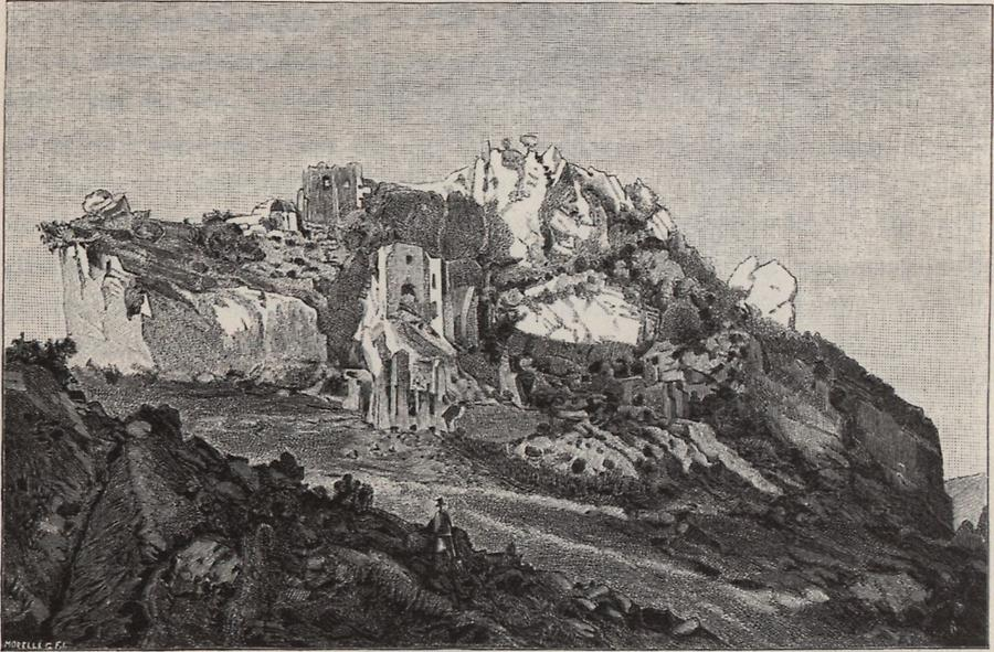 Illustration Ruine Veliki Kalnik
