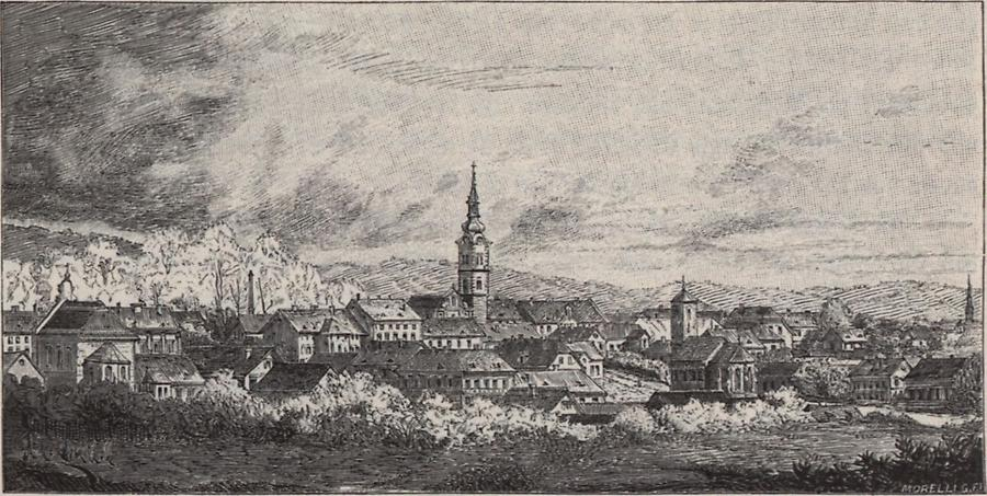 Illustration Stadt Kreutz