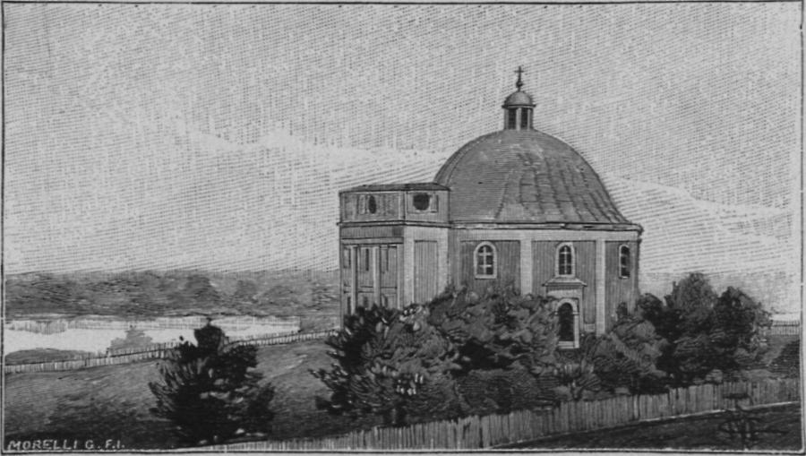 Illustration Friedenskapelle in Karlowitz