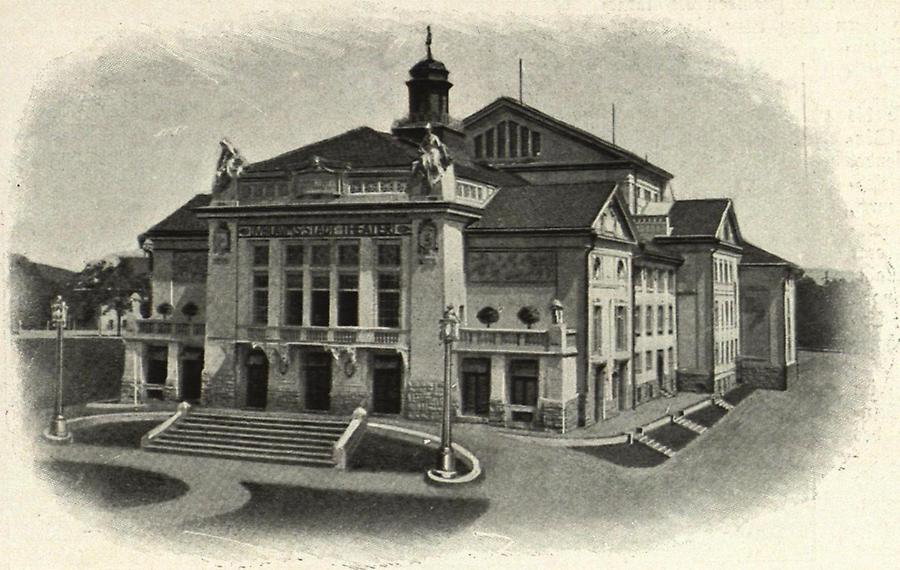 Illustration Klagenfurt Kaiser-Jubiläums-Stadttheater