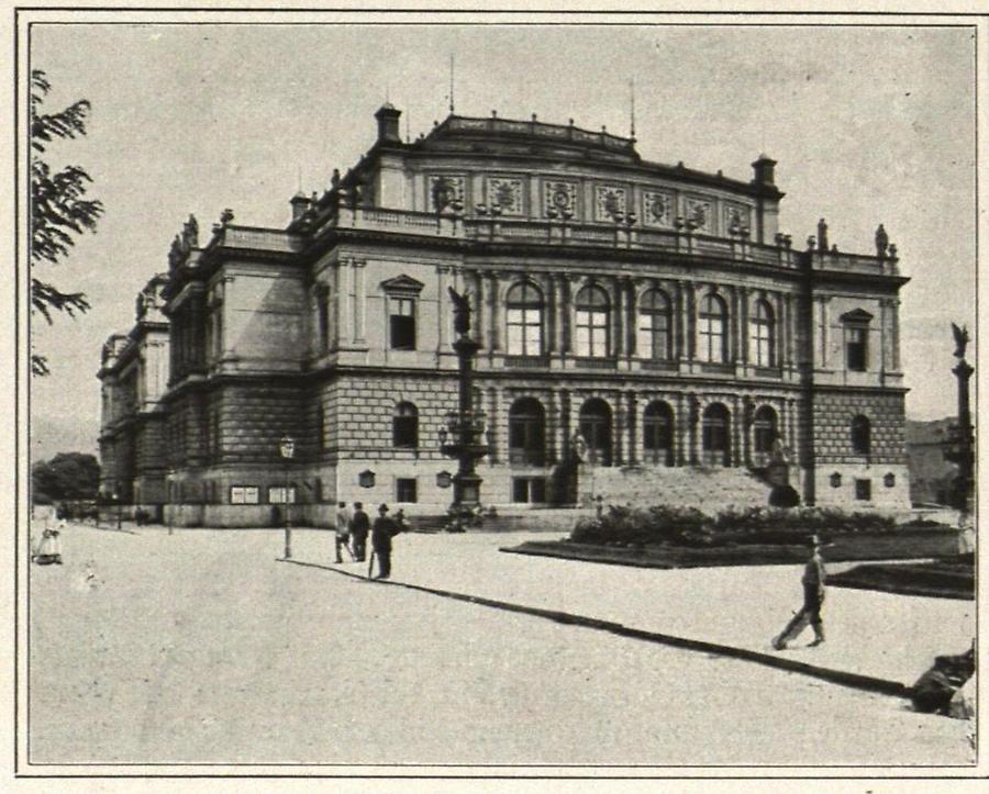 Illustration Prag; Rudolfinum