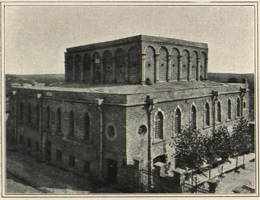 Illustration Tarnopol: Alte Synagoge