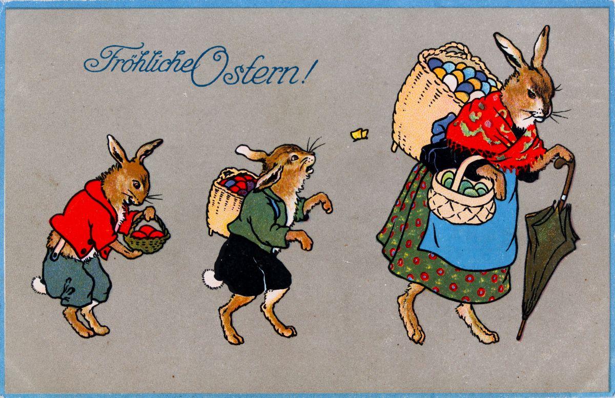 Osterkarten bilder im austria forum - Vintage bilder kostenlos ...