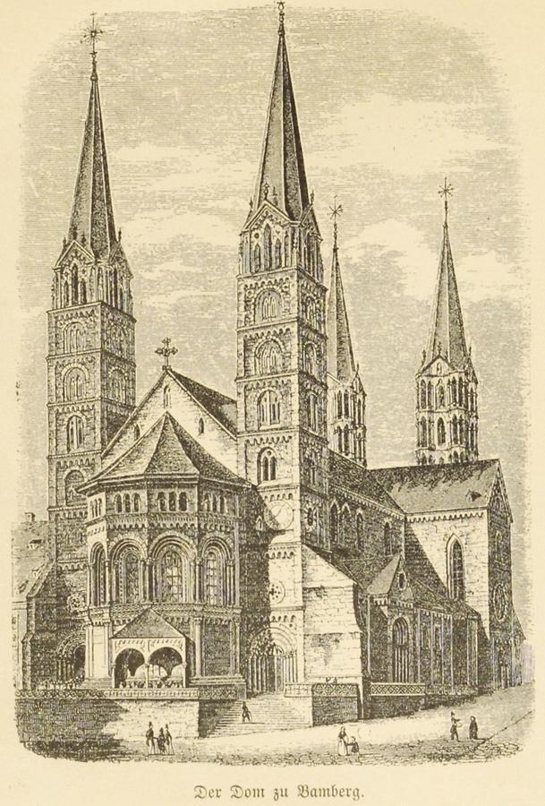 Illustration Dom zu Bamberg