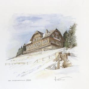 as Stubenberghaus, Aquarell, 2000