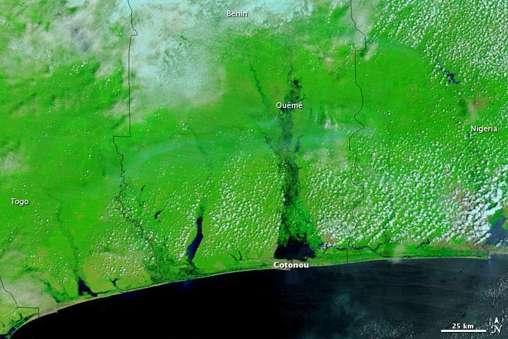 Coast of Benin, October 22, 2010