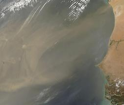 Dust Storm, Cape Verde Islands