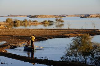 Lake Nasser - Fishermen (2)