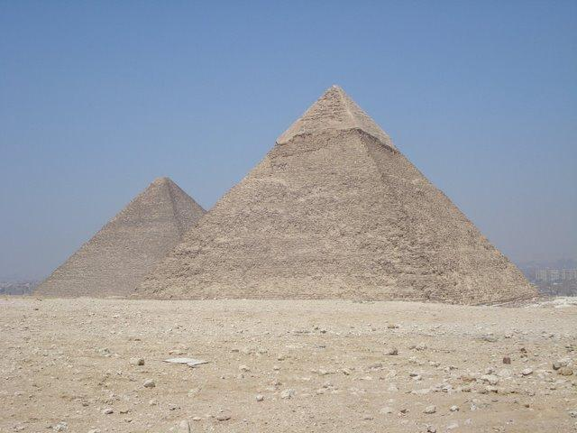 Pyramids of Khufu and Khafre