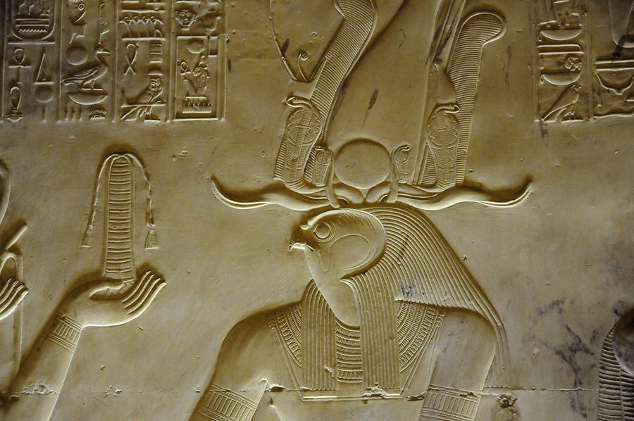 Horus Relief, Temple of Abydos