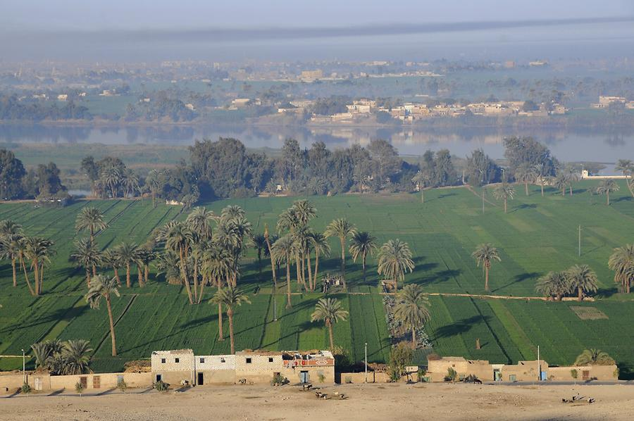 Nile Valley near Beni Hassan