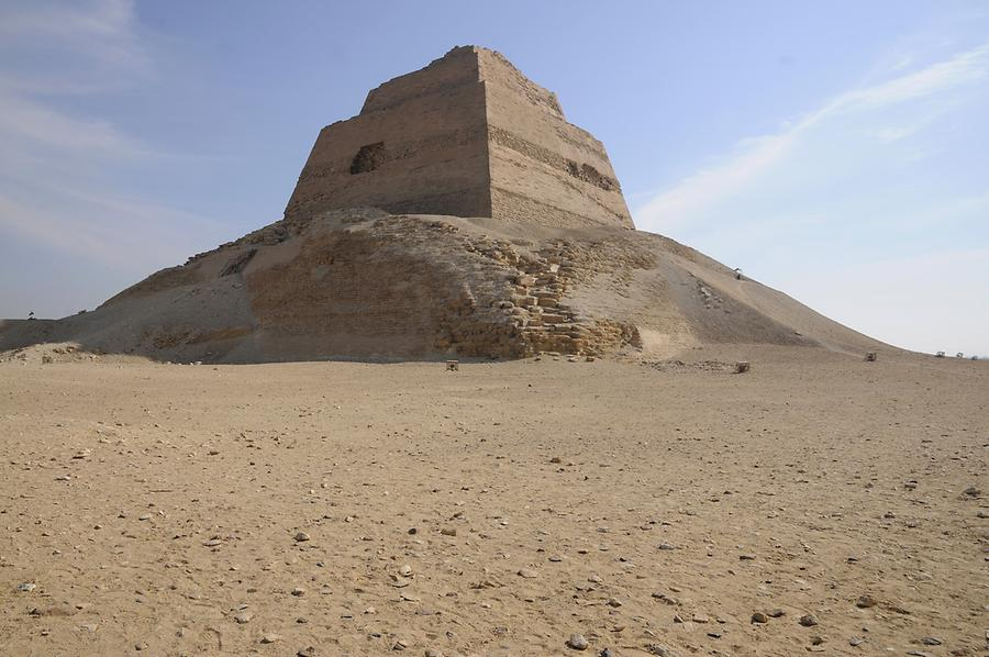 Pyramid in Meidum