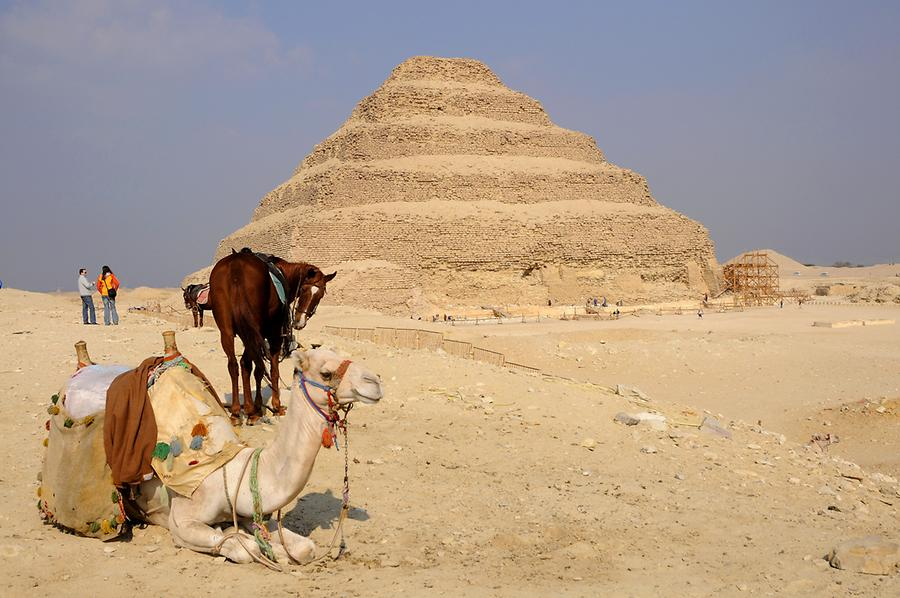 Step Pyramid in Sakkara