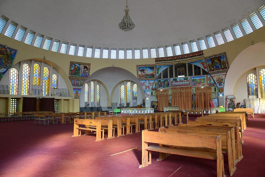New Cathedral of St Mary of Zion - Inside