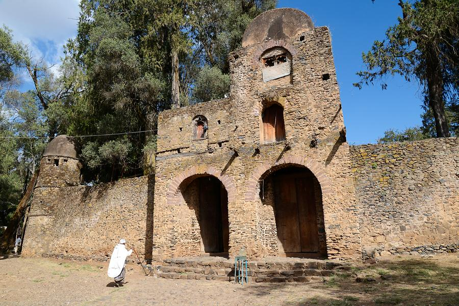 Debre Berhan Selassie Church - Entrance