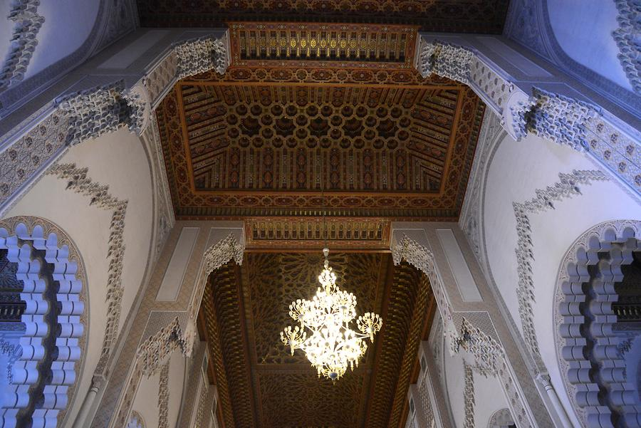 Hassan II Mosque - Inside
