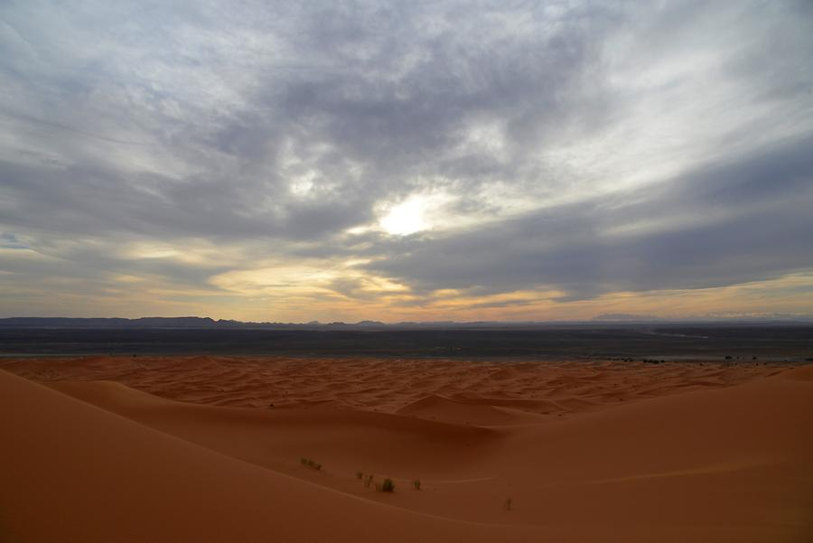 Erg Chebbi - Sunset