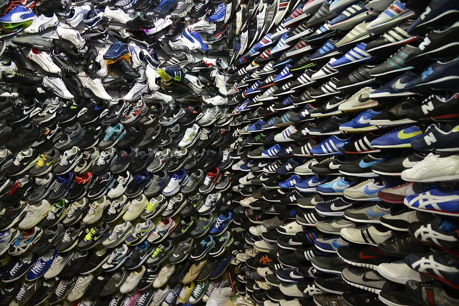 Meknes - Suq; Shoe Department