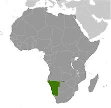 Namibia in Africa