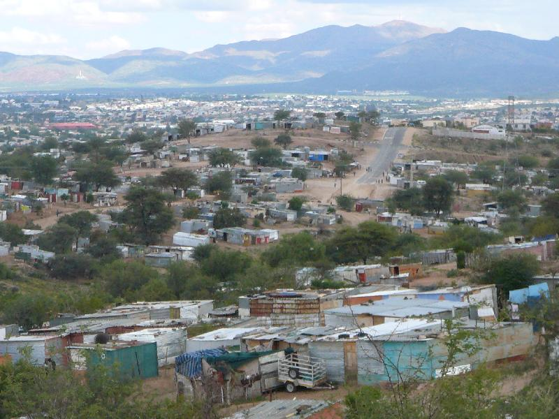 The other side of Windhoek