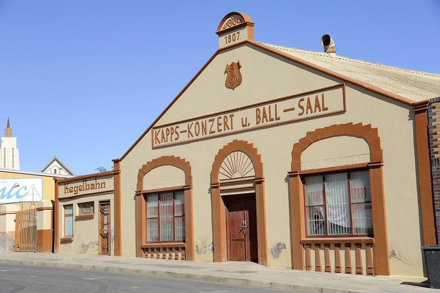Concert Hall in Lüderitz