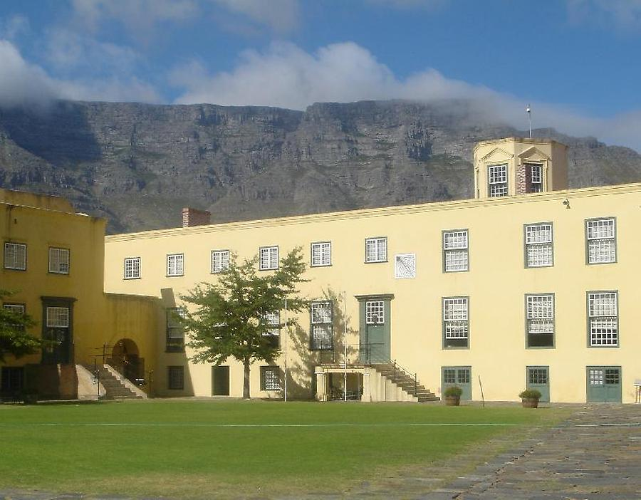 Inner courtyard of the Castle of Good Hope