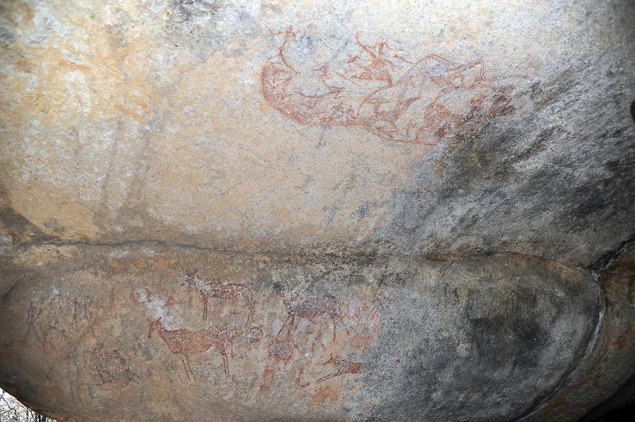 Rock Paintings Bambata Cave